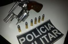 Arma utilizada no crime foi encontrada na casa do acusado (Sidnei Bronka)