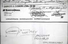 Documentos divulgados pela diretoria do Simted para comprovar que acusações são difamatórias (Reprodução/Simted)
