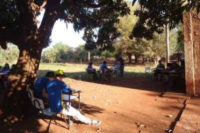 Para Justiça, situação da educação indígena em Dourados é discriminatória. Na Escola Municipal Tengatui Marang... (Divulgação/MPF)