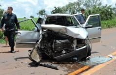 Acidente mata duas pessoas e fere outras quatro na região de Sidrolândia