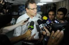 Para Jérôme Valcke, os investimentos são parte do compromisso da Fifa com o desenvolvimento do futebol brasile... (Tânia Rêgo/Agência Brasil)