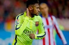 Neymar: pivô de polêmicas contra o Atlético ((Foto: Getty Images))