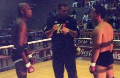 Anderson quando estreou no MMA em Campo Grande (Arquivo Pessoal / Dilsinho Mad Max)