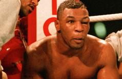 Mike Tyson caiu pela primeira vez em sua carreira (Getty Images)