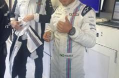 Felipe Massa durante os testes de pré-temporada em Jerez de la Frontera ((Foto: Reprodução/Twitter))