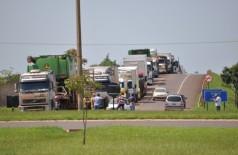 Protesto dos caminhoneiros está no quarto dia e União quer fim de bloqueio. (Reprodução)