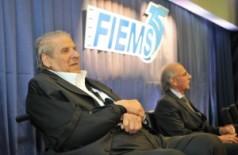 Jorge Zahran (á esquerda) morreu hoje em hospital de Campo Grande (Fiems)