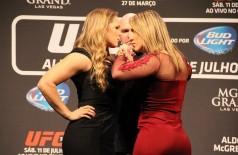 Bethe Correia promete provar que Ronda Rousey é uma farsa (Reprodução)