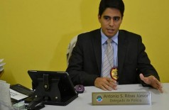 Delegado Antônio Souza Ribas Júnior (Reprodução)