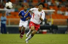 Atacante sul-coreana Park Eun-Seon durante a Copa do Mundo Feminina 2015 (Divulgação)