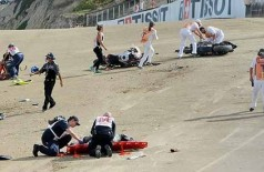 Bernat Martínez e Daniel Rivas morrem após acidente na largada de etapa da MotoAmerica nos EUA (Reprodução)