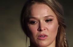 Ronda Rousey chora ao comentar provocação de Bethe sobre suicídio (assista)