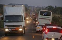 A tarifa do pedágio subiu 47,9% desde a concessão da via, em 2012 (Foto: Gerson Walber) ()
