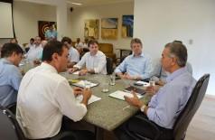 A informação foi repassada após reunião realizada nesta terça-feira (20/10), na Governadoria (Divulgação)