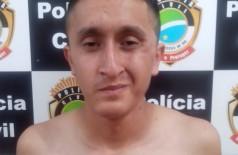 David Sebastian Sandoval Ortiz, de 21 anos, foi preso hoje em Dourados (Sidnei Bronka (94/FM))