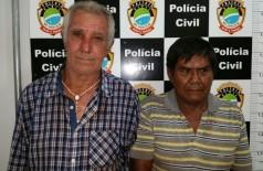 Altair Stapazolli, 61 anos e Luiz Carlos Alves de Souza, 58 anos (lado direito da foto) ((Foto: Bronka))