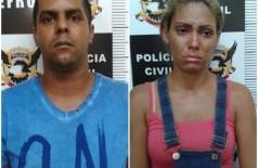 Suelen Cristina de Souza Ribeiro, 25 anos e João Pereira Batista Neto, 31 anos, o casal mora em Birigui (SP). ((Foto: Divulgação))