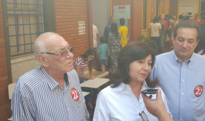 Délia Razuk foi eleita prefeita de Dourados nas eleições deste domingo (André Bento)