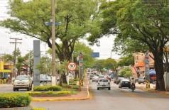 Avenida será alargada, recapeada e vai ganhar ciclovia no canteiro central, que terá tamanho reduzido (Foto: A. Frota)
