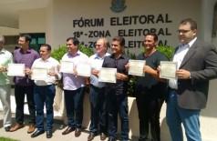Grupo de oposição à candidatura de Braz Melo a Presidente. ((Foto: Divulgação))