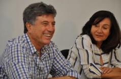 Em solenidade de encerramento de transição municipal, Délia Razuk elogia administração de Zauith em Dourados