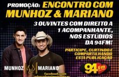 Banner: Promoção Encontro com Munhoz & Mariano