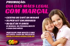 Banner: Promoção Dia das Mães Legal com o Marçal