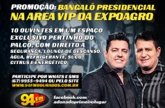 Banner: Bangalô Presidencial na Area Vip da Expoagro B&M