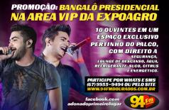 Banner: Bangalô Presidencial na Area Vip da Expoagro H&J