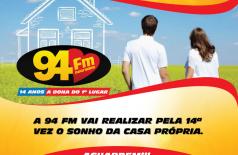 Banner: 94 FM Dourados - 14 Anos a Dona do 1ºLugar