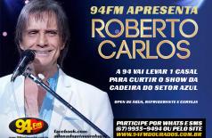 Banner: Promoção Roberto Carlos 94 FM
