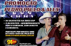 Banner: Promoção Pedro Paulo & Alex