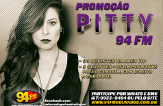 Banner: Promoção Pitty 94 FM