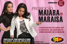 Banner: Promoção Maiara & Maraisa
