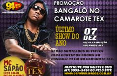 Banner: Promoção Bangalô no Camarote TEX