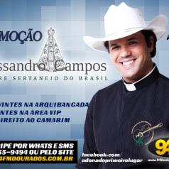 Banner: Promoção Padre Alessandro Campos 94FM