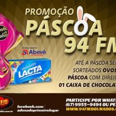 Banner: Promoção Páscoa 94 FM