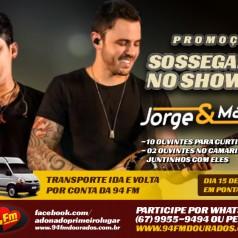 Banner: Sossegados no Show do Jorge & Mateus