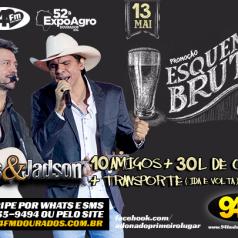 Banner: Promoção Esquenta Bruto Jads & Jadson