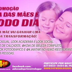 Banner: Promoção Dia das Mães é Todo Dia