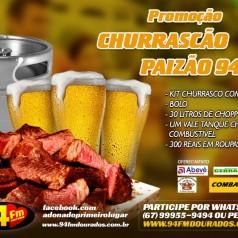 Banner: Churrascão Paizão 94 FM