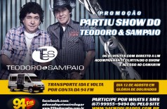 Banner: Promoção Partiu Show do Teodoro & Sampaio