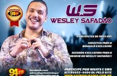 Banner: Tá Com Tudo no Show do Wesley Safadão