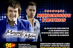 Banner: Promoção Matogrosso e Mathias