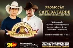 Banner: Café da Tarde com Brenno Reis & Marco Viola