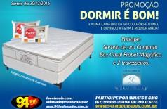 Banner: Promoção Dormir é bom!
