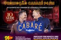 Banner: Promoção Cabaré Night Club 94 FM