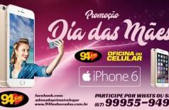Banner: Promoção Iphone 6 Dia das Mães