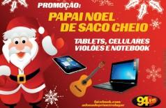 Banner: Promoção: Papai Noel de saco cheio!
