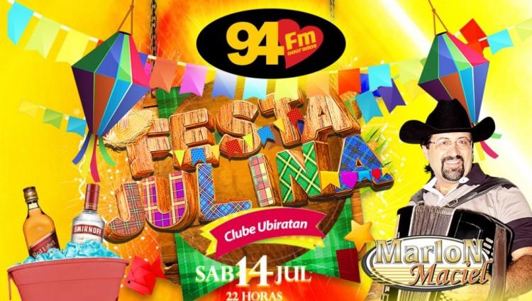 Banner: Festa Julina Ubiratan